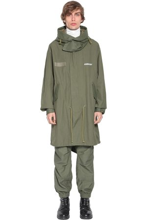 AMBUSH Hooded Cotton Parka Coat