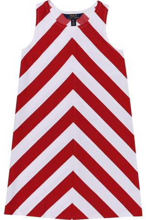 Ralph Lauren Chevron stretch-ponte dress
