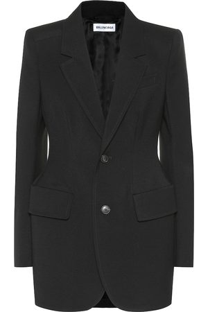 Balenciaga Hourglass virgin wool blazer