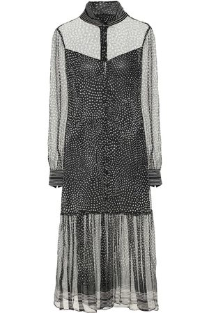 RAG&BONE Libby dotted silk-chiffon midi dress