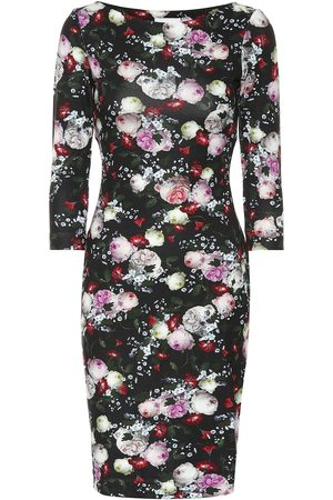 Erdem Reese floral ponte-jersey dress