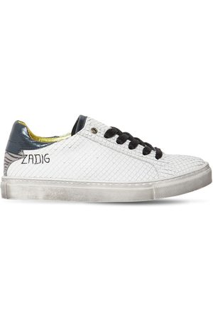 Zadig & Voltaire Leather Sneakers