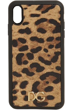 Dolce & Gabbana Print Leather Iphone X Max Case