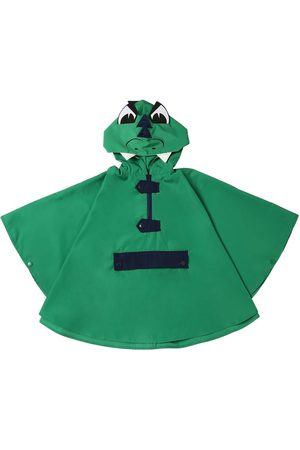 Stella McCartney Dragon Hooded Nylon Rain Cape