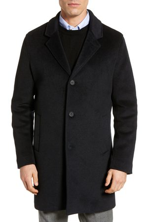 Cole Haan Men's Regular Fit Stretch Wool Coat