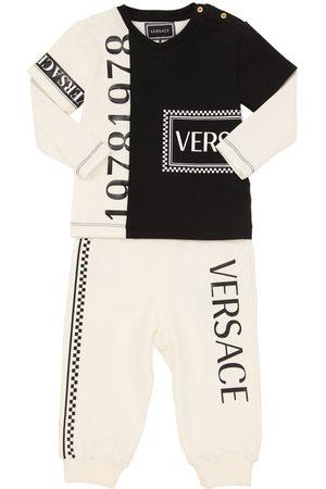 VERSACE Light Cotton Sweatshirt & Sweatpants