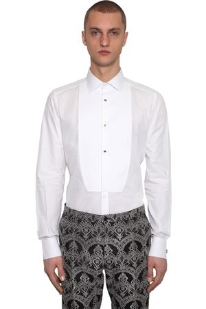 Dolce & Gabbana Popeli Tuxed Cotton Shirt