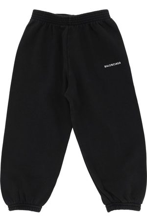 Balenciaga Logo Printed Cotton Sweatpants