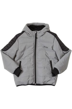 HUGO BOSS Padded Nylon Jacket W/ Hood