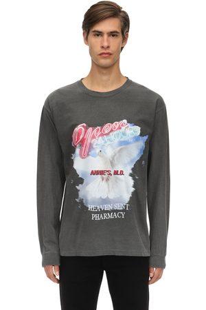 AN AN ANN Heaven Sent Longsleeve Cotton T-shirt