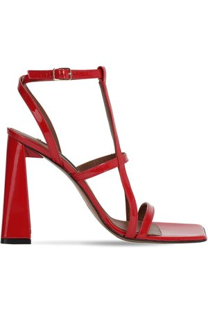 AREA 105mm Patent Leather Sandals