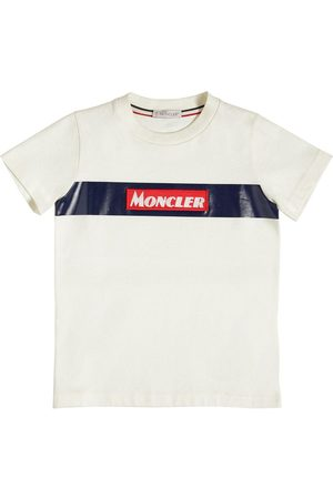 Moncler Logo Cotton Jersey T-shirt