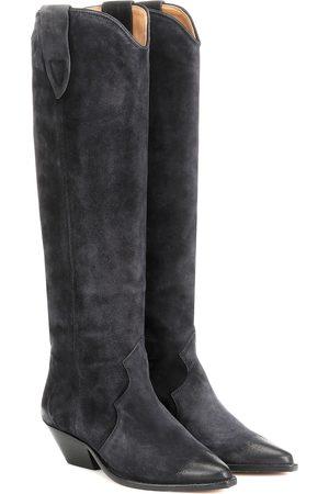 Isabel Marant Denvee washed velvet boots