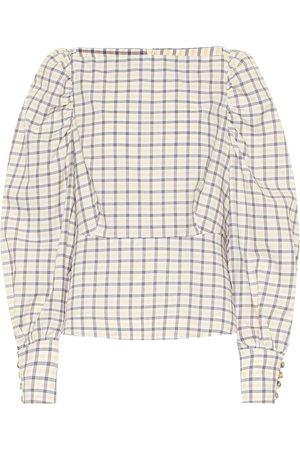 Baum und Pferdgarten Women Tops - Exclusive to Mytheresa – Maribelle checked cotton top