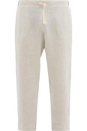 MARANÉ Drawstring Linen Trousers - Mens