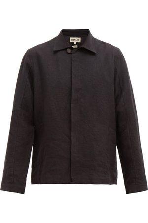 MARANÉ Button-down Linen Jacket - Mens