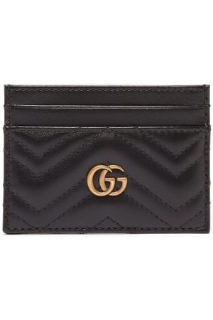 Gucci GG Marmont Leather Cardholder - Womens