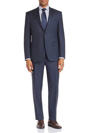 CANALI Siena Textured-Weave Regular Fit Wool Suit