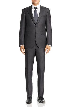 CANALI Capri Sharkskin Slim Fit Wool Suit
