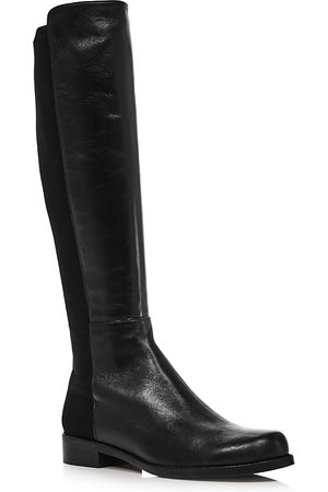 Stuart Weitzman Women Thigh High Boots - Women's Half N' Half Knee Boots