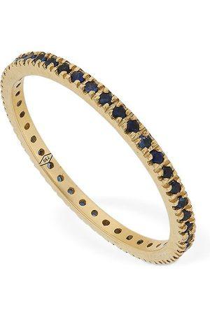 VANZI Annagreta Thin 18kt Gold & Sapphire Ring