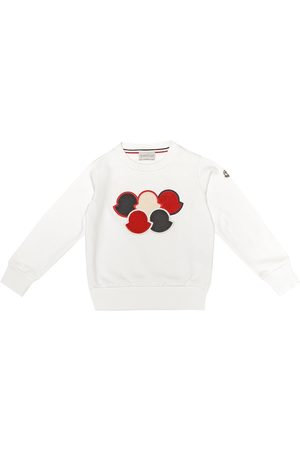 Moncler Embroidered cotton sweatshirt