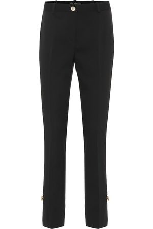 VERSACE Stretch wool pants
