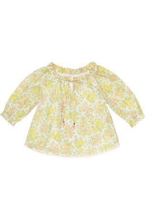 ZIMMERMANN Floral silk top