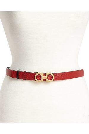 Salvatore Ferragamo Women's Gancini Reversible Belt
