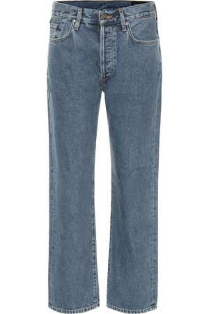 Goldsign The Relaxed mid-rise straight jeans