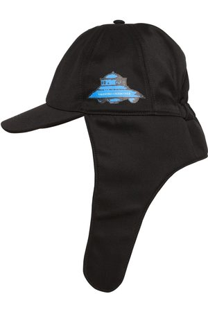 Valentino Vu Ufo Printed Nylon Aviator Hat