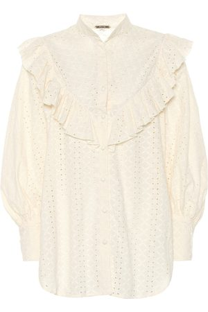 JOHANNA ORTIZ Endless Curiosity eyelet cotton shirt