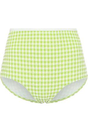 Solid Exclusive to Mytheresa – The Brigitte gingham bikini bottoms