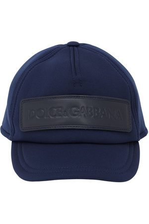 Dolce & Gabbana Logo Patch Neoprene Baseball Hat