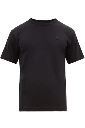Acne Chest Patch Cotton Jersey T Shirt - Mens