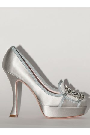 Roger Vivier Women Heels - 120mm Lvr Exclusive Satin Pumps