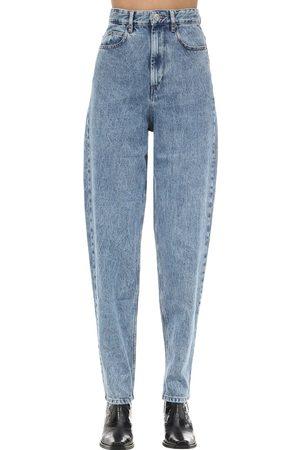 Isabel Marant Corsy J Boyfriend Cotton Denim Jeans
