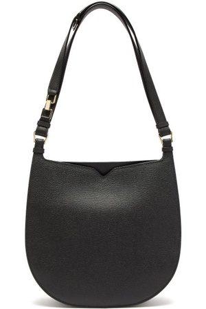VALEXTRA Hobo Weekend Medium Leather Bag - Womens