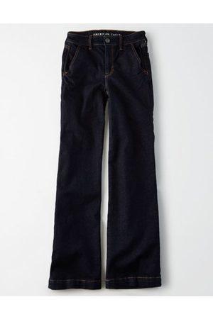 American Eagle Outfitters Wide Leg Jean Women's 22 Short
