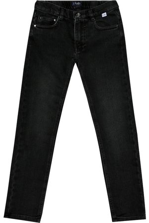 Il gufo Cotton-blend skinny jeans