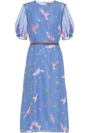 Altuzarra Gormann printed silk chiffon dress