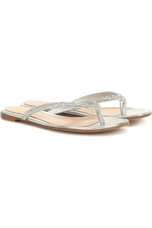 Gianvito Rossi Diva embellished sandals