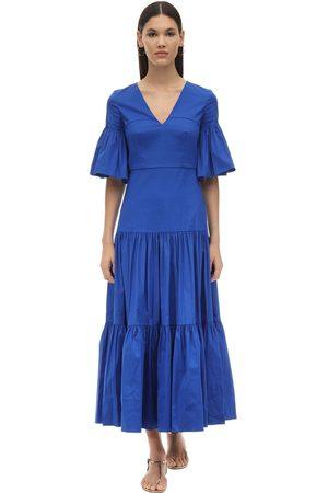 Borgo De Nor Women Dresses - Teodora Ruffled Cotton Poplin Dress