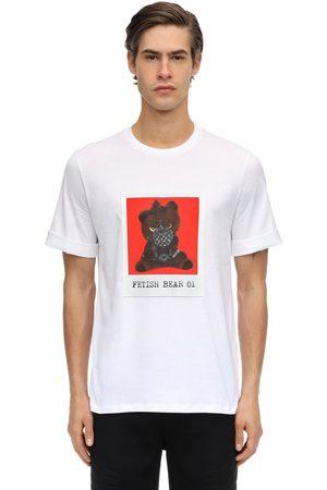 Neil Barrett Men T-shirts - Slim Printed Cotton Jersey T-shirt