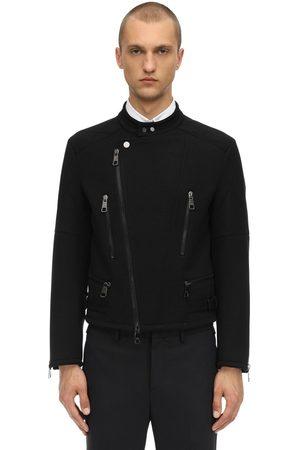 Neil Barrett Men Jackets - Wool Blend Jersey Jacket