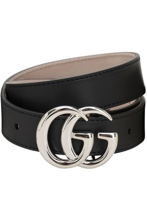Gucci Girls Belts - Gg Leather Belt