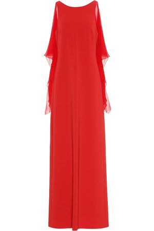 Max Mara Women Evening dresses - Dovere georgette and cady gown