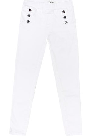 Ralph Lauren The Aubrie denim leggings