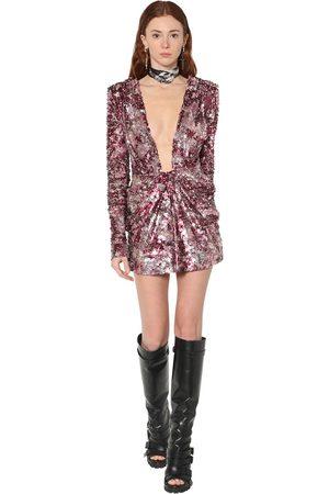 Dsquared2 Sequined Mini Dress