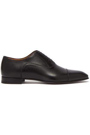 Christian Louboutin Greggo Leather Oxford Shoes - Mens